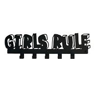 Вешалка GIRLS RULE черная